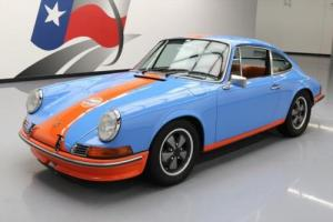 1971 Porsche 911 T GULF OUTLAW 5-SPEED FUCH WHEELS Photo