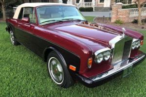 1986 Rolls-Royce Corniche Photo
