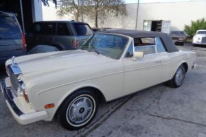 1985 Rolls-Royce Corniche Photo