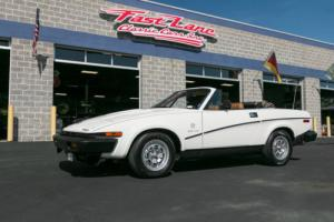 1981 Triumph TR8 TR8 Convertible Photo