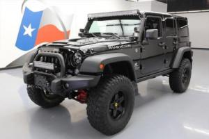 2014 Jeep Wrangler UNLTD RUBICON 4X4 AEV LIFTED NAV