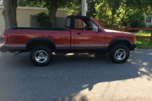1989 Dodge Dakota DAKOTA SPORT CONVERTIBLE
