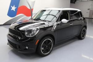 2013 Mini Countryman COOPER S TURBO 6-SPD PANO ROOF