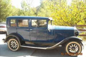 1929 Oldsmobile F29 4 DR Sedan