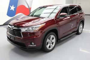 2014 Toyota Highlander LTD SUNROOF NAV 7-PASS 19'S