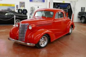 1938 Chevrolet Master Deluxe Business Coupe-5 Window Street Rod
