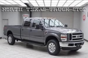 2008 Ford F-350 Lariat Diesel 4x4 Leather Rear Camera Long