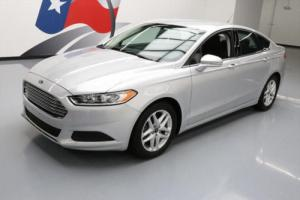 2015 Ford Fusion SE ECOBOOST REAR CAM ALLOY WHEELS