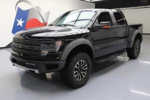 2014 Ford F-150 4X4 SVT RAPTOR CREW 6.2 SUNROOF NAV