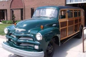 1954 Chevrolet Other WOODY ESTATE BUS
