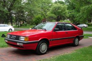 1987 Audi Coupe Photo
