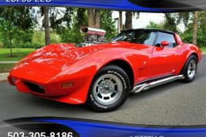 1979 Chevrolet Corvette Blown 6-71 Supercharger T-Tops Nitrous Side Pipes Photo