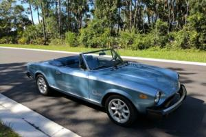 1981 Fiat 124 Spider 2000 Legend for Sale