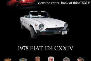 1978 Fiat 124 Spider Convertible for Sale