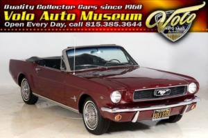 1966 Ford Mustang -- Photo