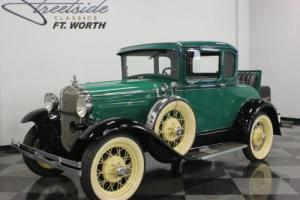 1930 Ford Model A Deluxe Coupe Photo