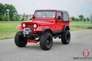 1984 Jeep CJ FULLY BUILT / ZERO CORNERS CUT Photo