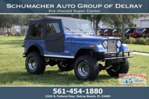 1984 Jeep CJ -- Photo