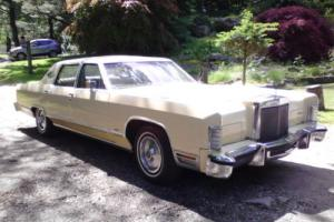 1978 Lincoln Continental Photo