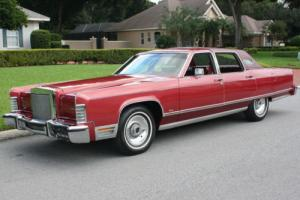 1977 Lincoln Town Car SURVIVOR - TWO OWNER - 74K MI Photo
