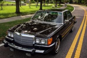 1975 Mercedes-Benz S-Class W116 in DB 423 Dark Tobacco Brown w. 69k miles