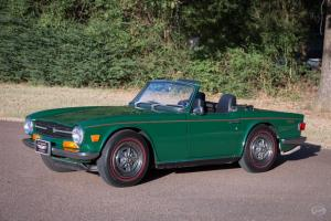 1969 Triumph TR-6 -- Photo