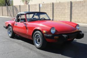 1979 Triumph Spitfire -- for Sale