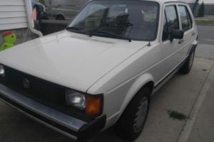 1983 Volkswagen Rabbit Photo