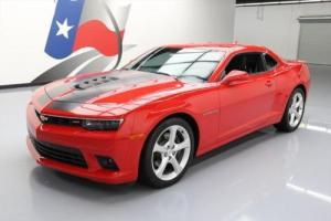 2015 Chevrolet Camaro 2SS 6-SPD HTD LEATHER NAV HUD 20'S