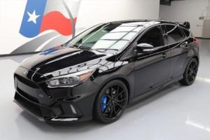 2016 Ford Focus RS HATCHBACK 6-SPEED RECARO REAR CAM