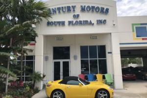 2007 Saturn Sky Convertible Leather CarFax 1 Owner
