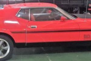 1972 Ford Mustang MUSTANG MACH ONE