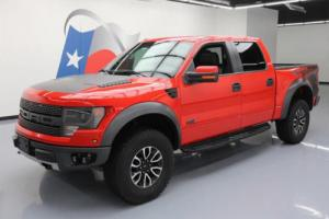 2014 Ford F-150 SVT RAPTOR 6.2L 4X4 SUNROOF NAV