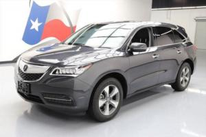 2016 Acura MDX SH-AWD SUNROOF HTD SEATS REAR CAM