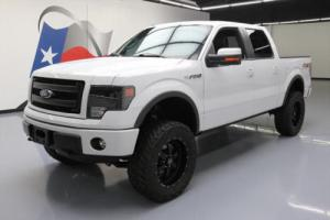 2014 Ford F-150 FX4 CREW 4X4 5.0 LIFTED SUNROOF NAV