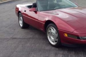 1995 Chevrolet Corvette Convertible