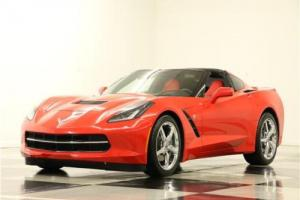 2014 Chevrolet Corvette 2LT Stingray GPS Leather Torch Red Coupe