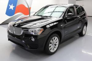 2017 BMW X3 XDRIVE28I AWD TURBO PANO SUNROOF NAV