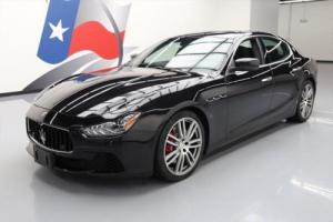 2015 Maserati Ghibli S Q4 AWD HTD SEATS SUNROOF NAV for Sale