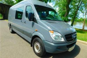 2011 Mercedes-Benz Sprinter EXT CREW VAN 2 SIDE DOORS