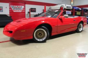 1991 Pontiac Firebird Trans Am Convertible for Sale