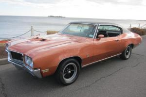 1971 BUICK GS350 RARE NUMBERS MATCHING W/ BUILDSHEET