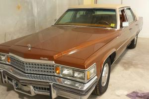 1978 Cadillac DeVille Base Sedan 4-Door 7.0L