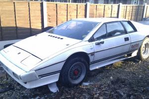 lotus esprit s3 turbo white project restoration