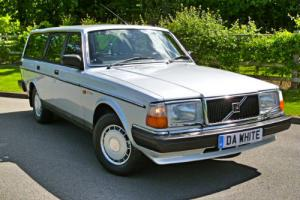 1986/C VOLVO 240 2.0 GLE ESTATE with JUST 38k FROM NEW