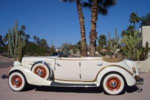 1934 Auburn 850Y 4 Door Phaeton Convertible Sedan CCCA Full Classic