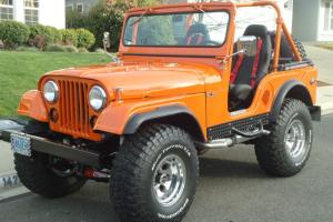 Vintage 1958 Willys Jeep CJ5 completely customised/ restored.