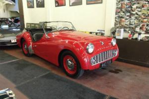 1959 Triumph TR3A Roadster Manual LHD