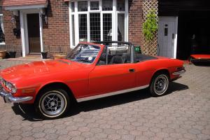 1972 TRIUMPH STAG RED Photo