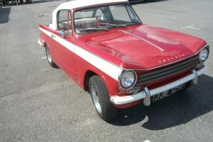 TRIUMPH HERALD 13/60 RED CONVERTIBLE (RELISTED DUE TO A TOTAL TIMEWASTER)